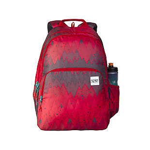 Wildcraft Wiki 4 Ombre Backpack - Red