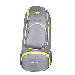Wildcraft Rucksack For Backpacking Outrider 40L - Grey