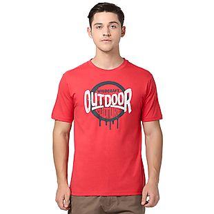 Wildcraft Men Outdoor Culture Crew T-shirt
