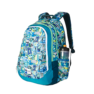 Wildcraft Wiki 6 Stamp Backpack - Green