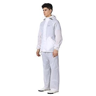 Wildcraft Wildcraft White Unisex Rain Suit