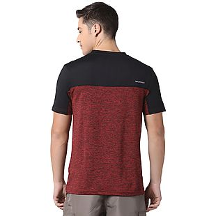Wildcraft Men Colour Block Crew Neck T-shirt