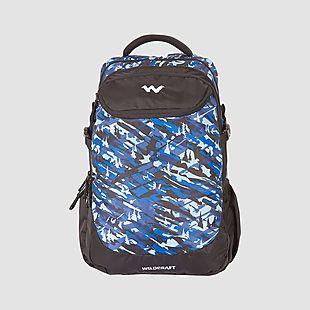 Wildcraft Camo 5 Backpack Bag - Blue